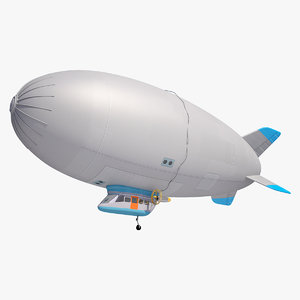 zeppelin airship ship 3d max