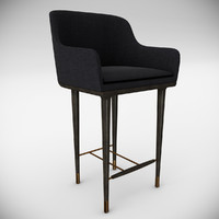 3d max chair bar lunar