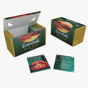 tea greenfield 3d model