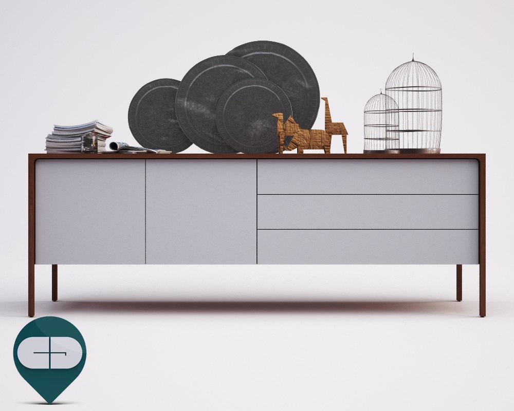 buffet tactile c 3d model