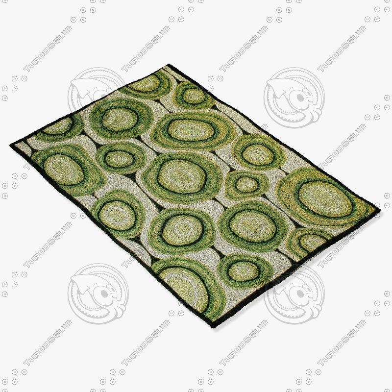 3ds max amara rug flat weave