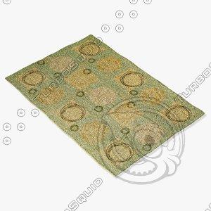 3dsmax amara rug flat weave