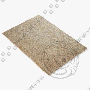 3d amara rug flat weave