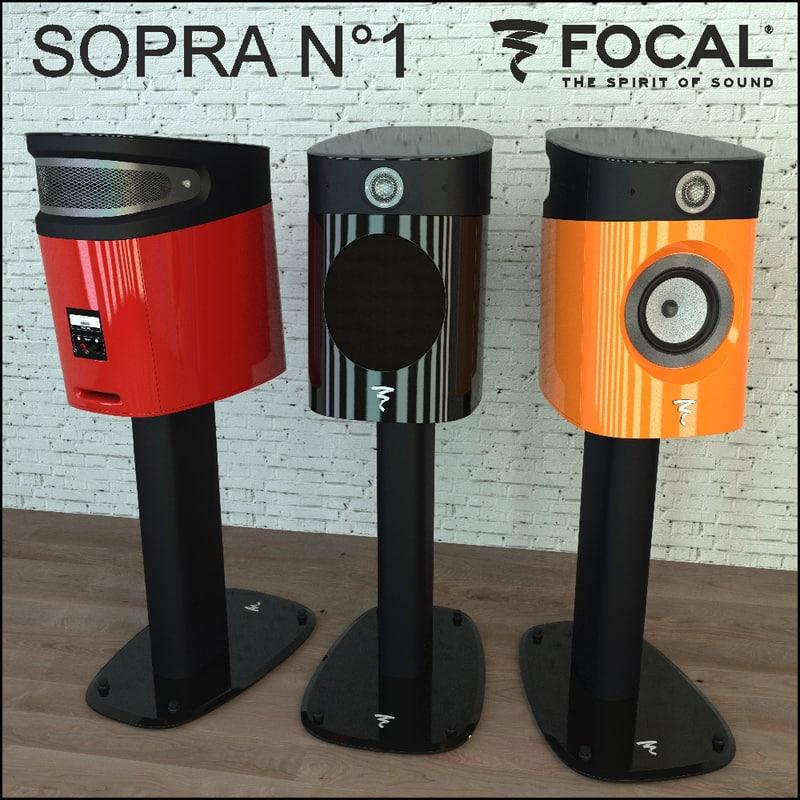 1 focal sopra 3d model