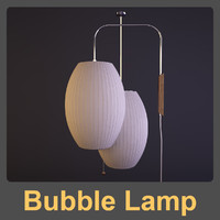 George Nelson Bubble Lamp Cigar Pendant