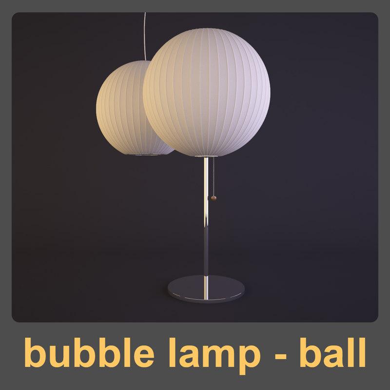 bubble lamp - ball max