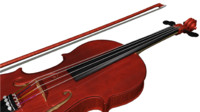 Nolwenn's Red Violin & bow