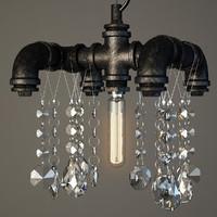 lamps lussole loft 3d max