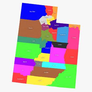 3ds max utah counties