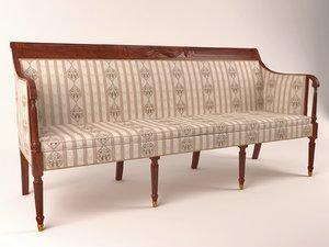 classical sofa max