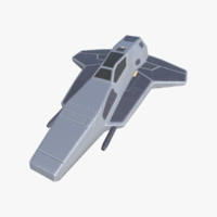 3d 3ds space fighter