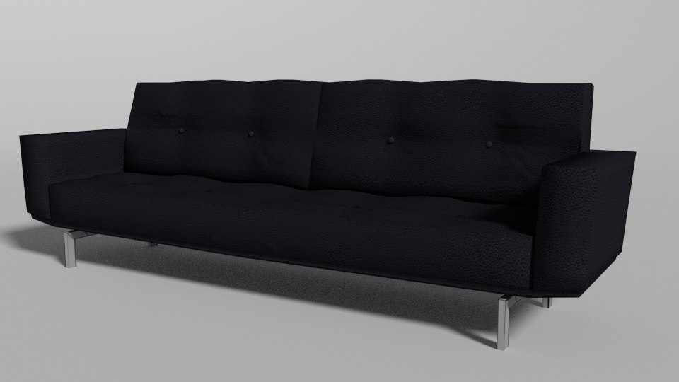 couch modern 3d max