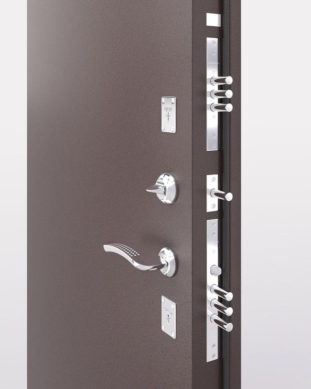 3d metall door