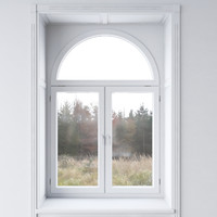 White window