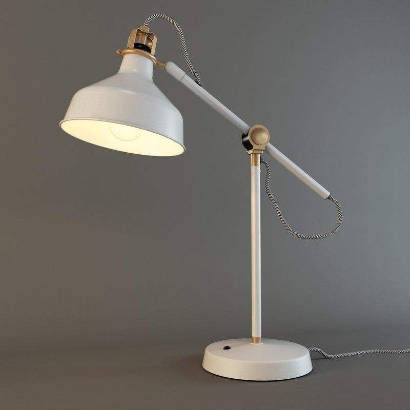 max ranarp work lamp off-white