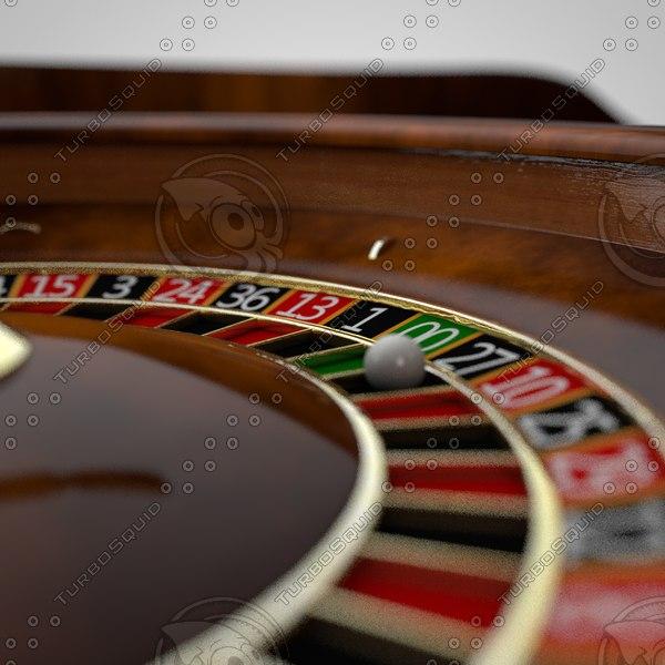 3d c4d roulette