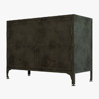 chest sideboard 3d 3ds