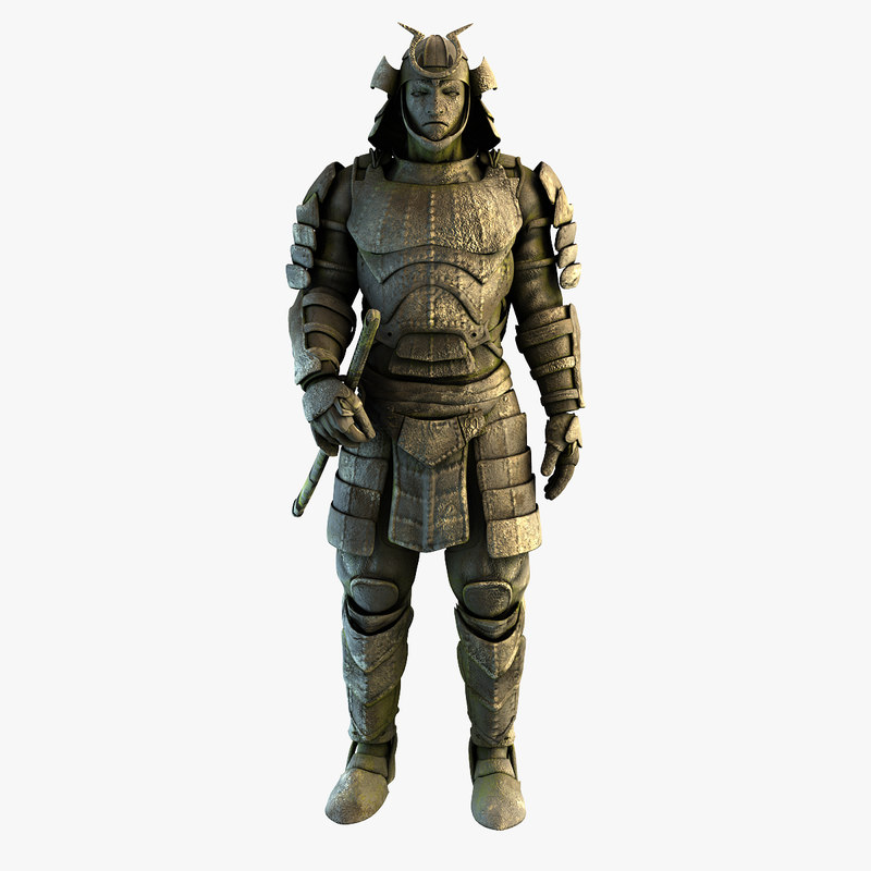 samurai 3d models for download turbosquid