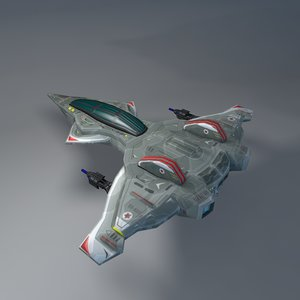 3d model space fighters