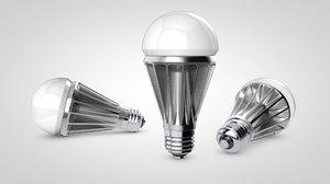 led bulb 3d model