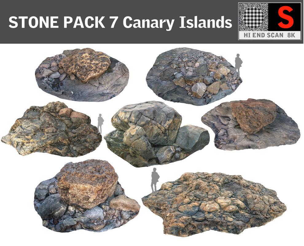 maya stone pack 7 hd