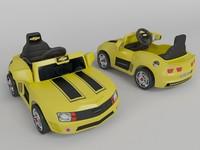 3d toy camaro model