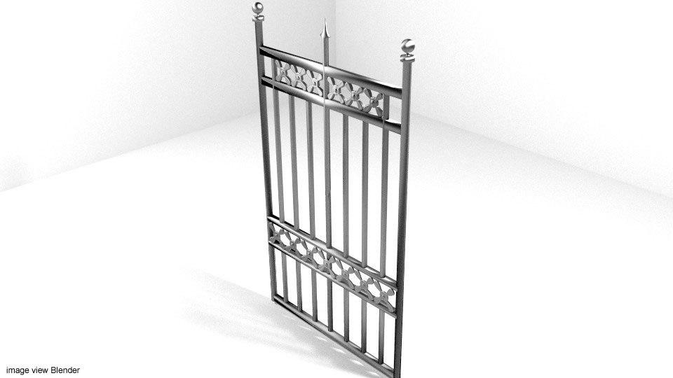 3ds steel gate