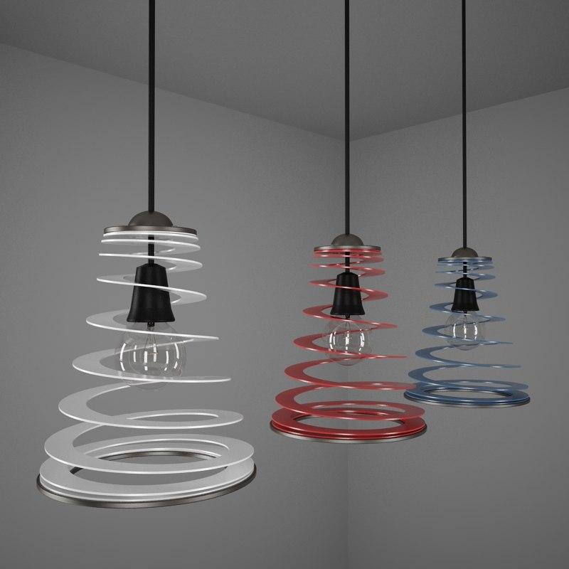 3d lamps model