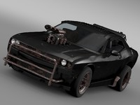 lightwave mad fight interceptor dodge challenger
