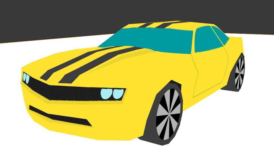 3d chevrolet camaro 2010 model
