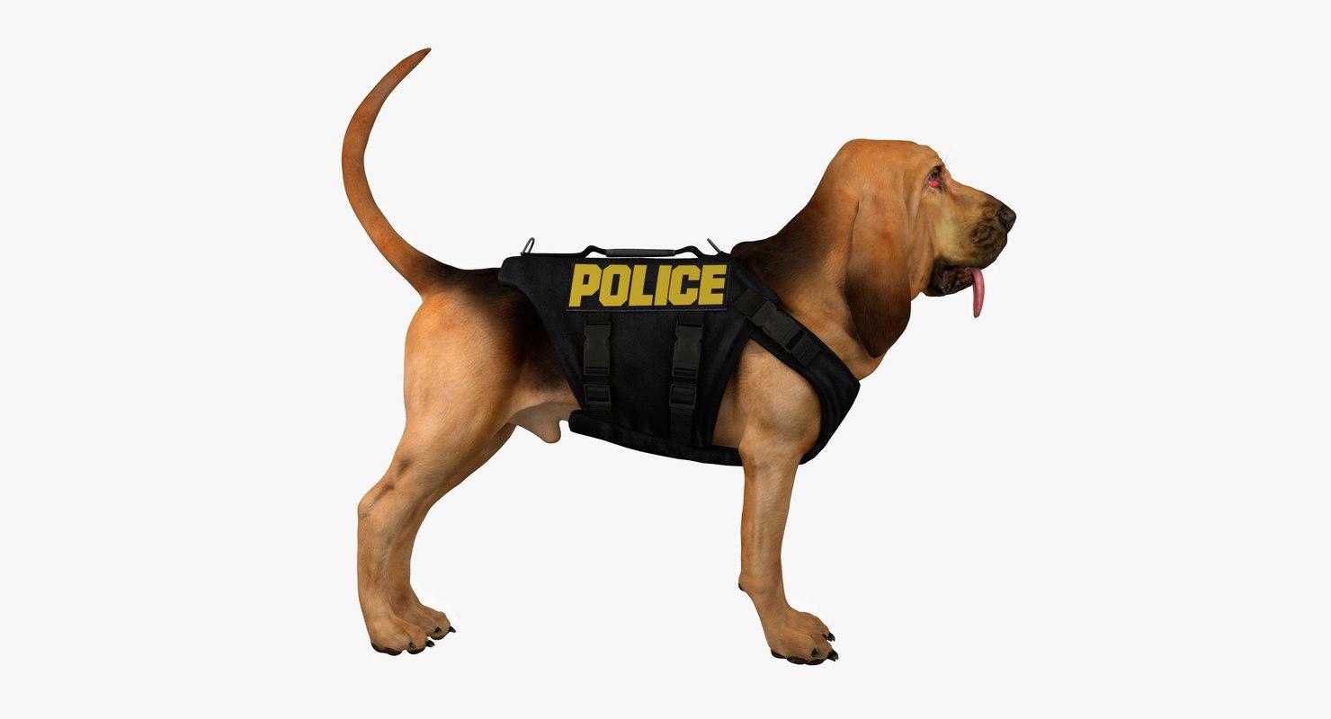 bloodhound black tan body armor 3d model
