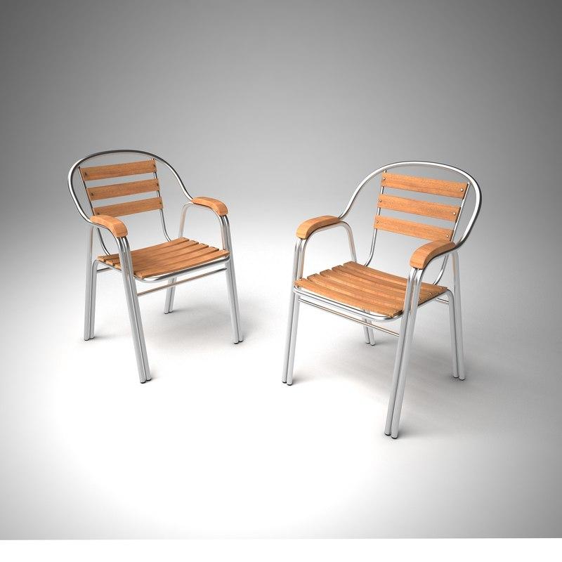 3ds aluminum chair
