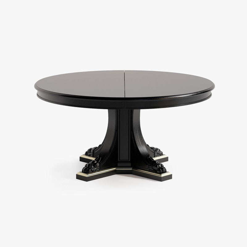 3d ralph empire pedestal table model