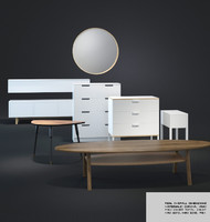 IKEA Furniture Collection 01 - 8 Items