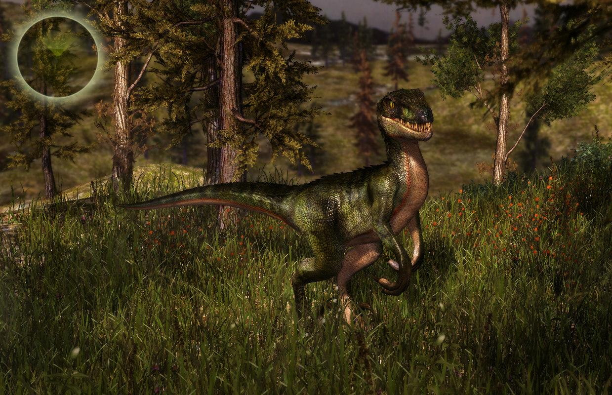 3d raptors model
