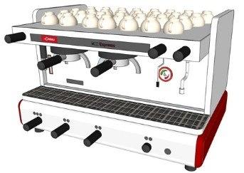 3d cimbali m22 espresso