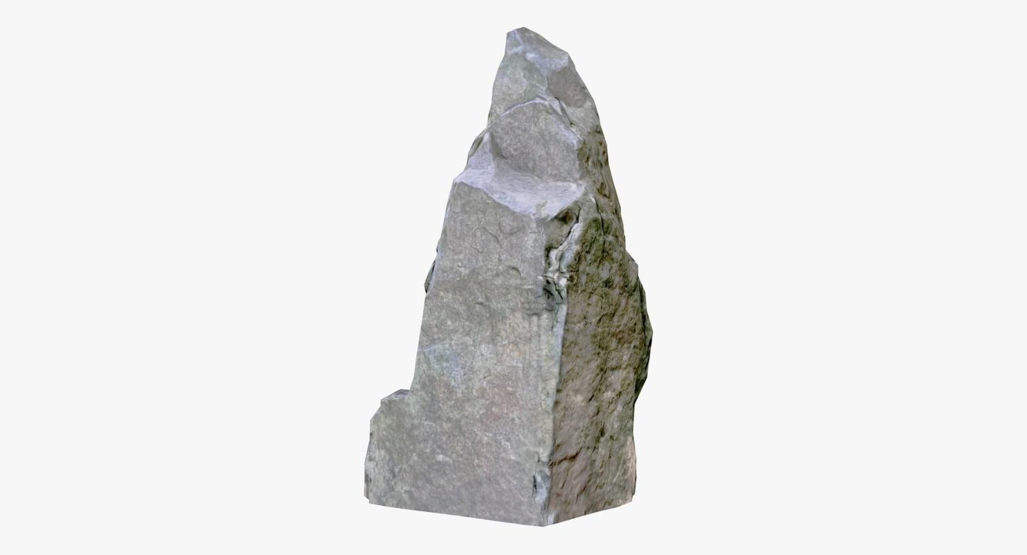 rock 3d max