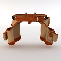 3d obj tool belt