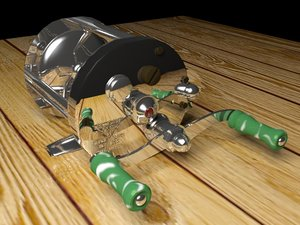 pfluger akron reel 3d model