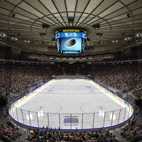 MSG Hockey Arena with Animated Audience