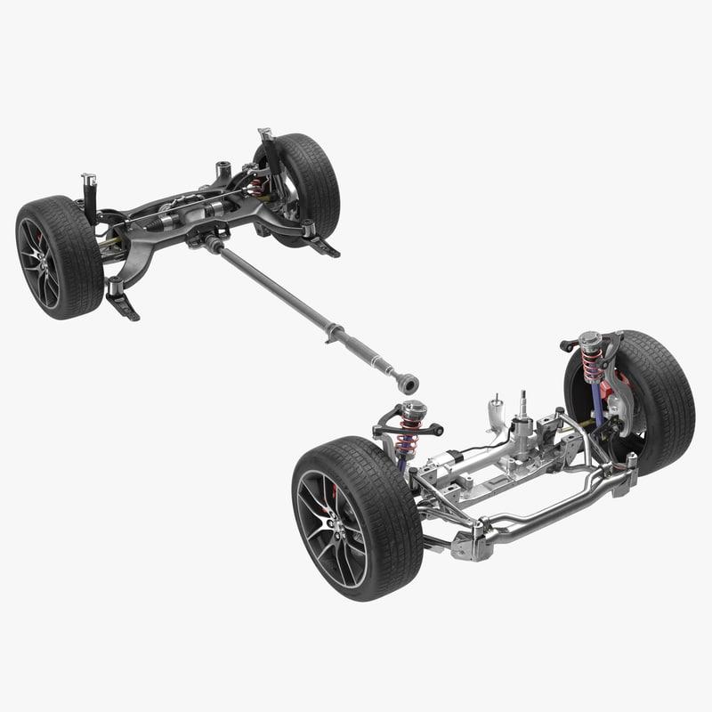 3d 3ds sedan chassis