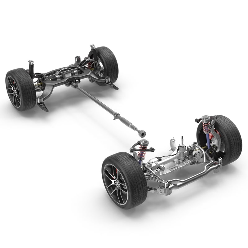 3d 3ds sedan chassis