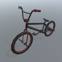 3d bike wheels model