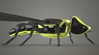 3ds max bee robot