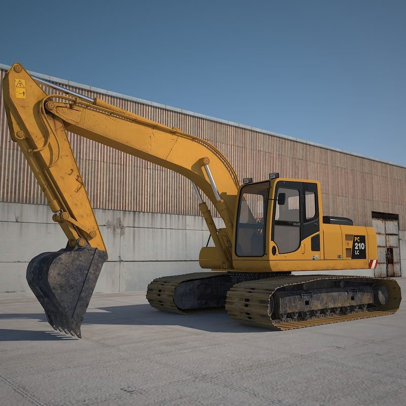 digger excavator industrial max