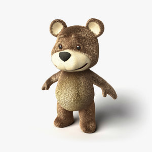 3d model of teddy bear 5