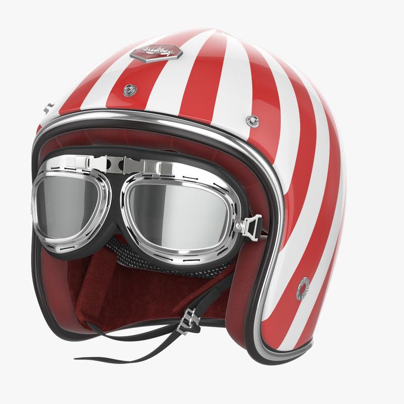 max motorcycles helmet ruby