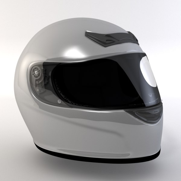 3ds max motorsport helmet