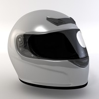 3ds max motorsport helmet