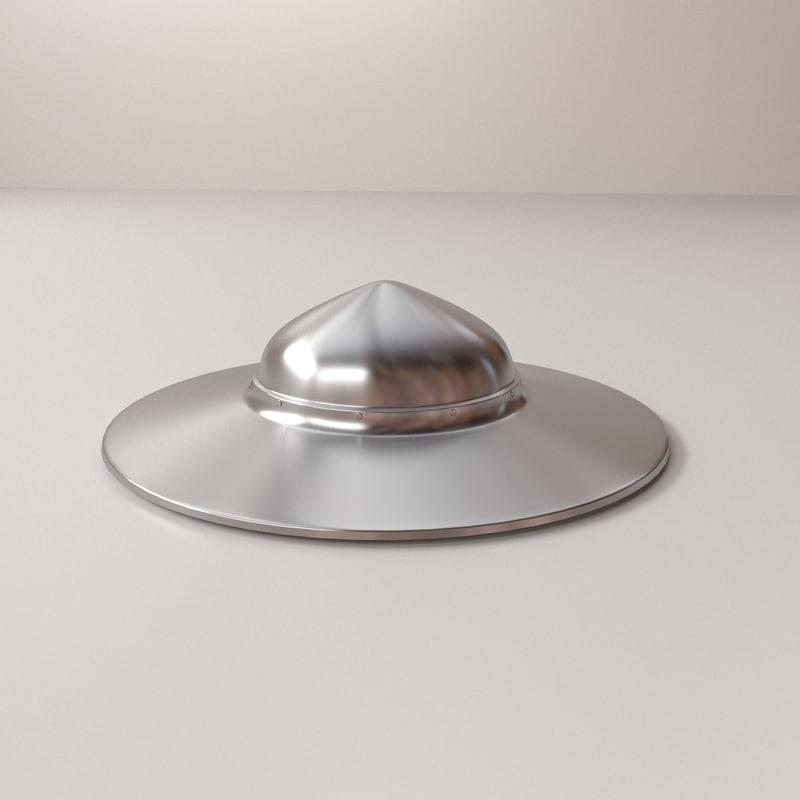 kettle hat 3d model